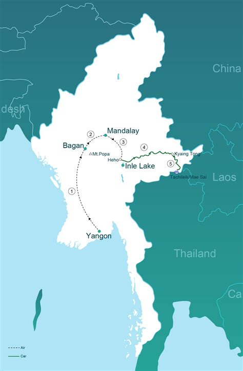 Through The Triangle by Through The Golden Triangle To Thailand Go Myanmar