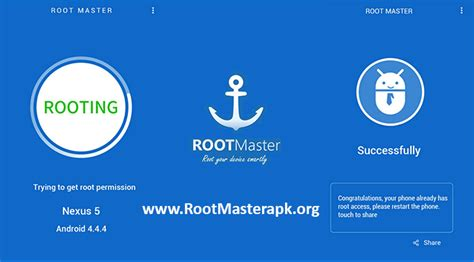 root master rootmaster apk for android rooting