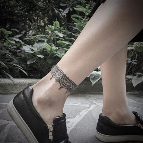 tribal tattoos ankle bracelet 45 exclusive ankle bracelet for and