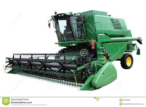 Steunk Combines Modern Tech With Elements by Green Modern Combine Royalty Free Stock Photos Image