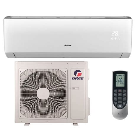 mitsubishi mini split wall mount gree vireo 24 000 btu 2 ton ductless mini split air