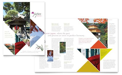 pdf magazine template travel tourism brochures templates designs