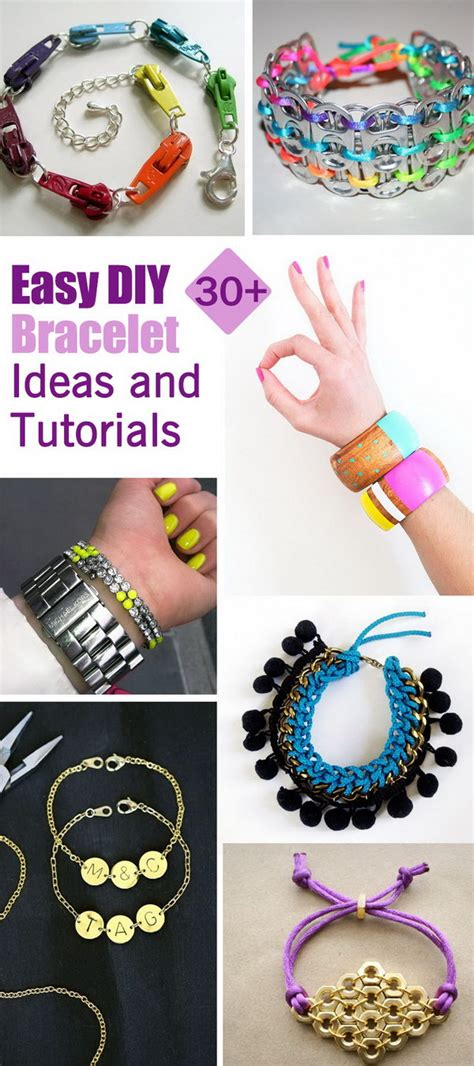 30 Easy Diy Bracelet Ideas And Tutorials Noted List | 30 easy diy bracelet ideas and tutorials noted list
