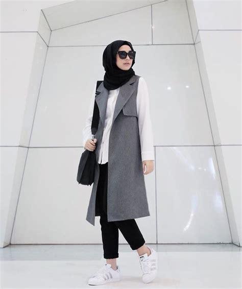 Baju Kodok Overall Hoodie Ks 19 model rompi wanita muslimah tercakep cuakep part 4