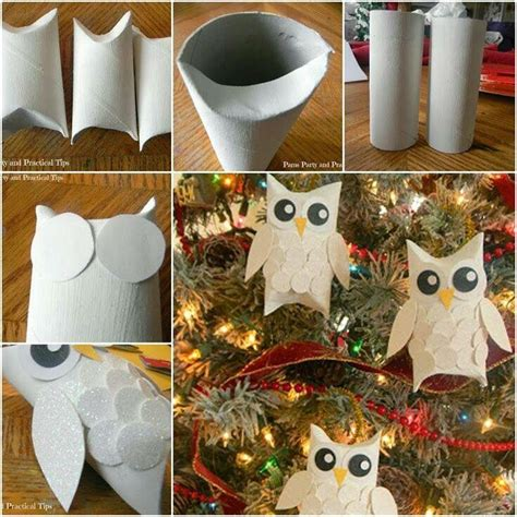 What To Make Out Of Toilet Paper Rolls - owls out of toilet paper rolls tecnicas y manualidades