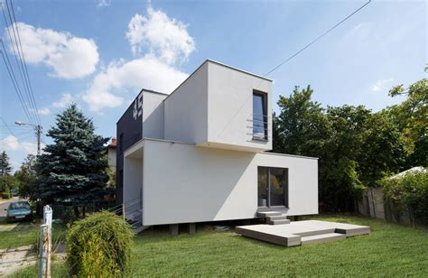home designer architect architectural 2015 cube 2 box house in myslowice e architect