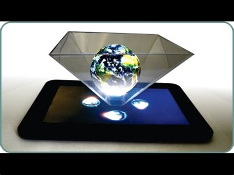smartphone 3d hologram projector minions how to make how to use your smartphone or tablet to make a 3d holog