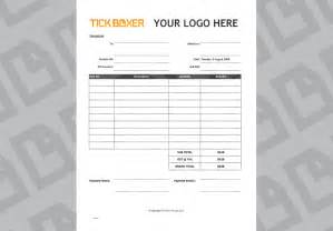 ad agency invoice template free download tick boxer