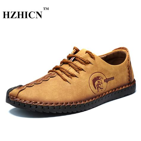 2017 Retro Style Handmade Shoes - retro handmade leather shoes 2017 new arrival casual