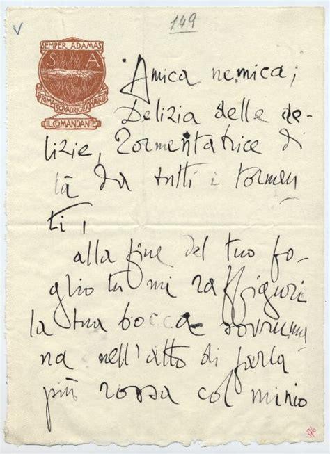 lettere d ad un amante gabriele d annunzio le frasi d dedicate alle sue amanti