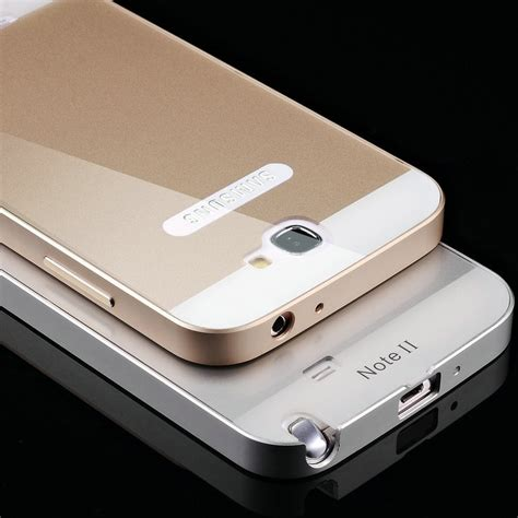 aliexpress com buy note 2 luxury aluminum case for