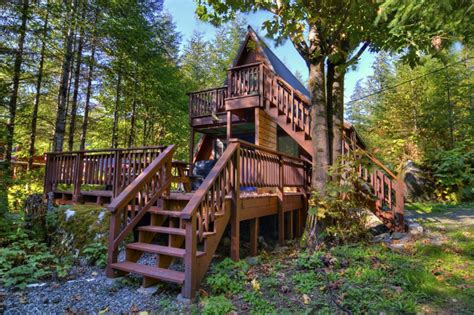 classic a frame style cabin w tub vrbo