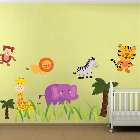 Nursery Wall Decals Animals Nursery Zoo Wall Decal Animal Wall Decal Murals Primedecals