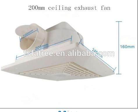 low noise ceiling fans low noise bathroom ceiling fan kitchen plastic indoor