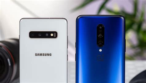 Samsung Galaxy S10 Vs Oneplus 7 Pro Gsmarena by Oneplus 7 Pro Vs Samsung Galaxy S10 Plus Which One Is Winning The Battle Of Features Techhx