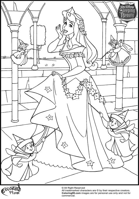 Disney Princess Aurora Coloring Pages Team Colors The Princess Coloring Pages Free Coloring Sheets