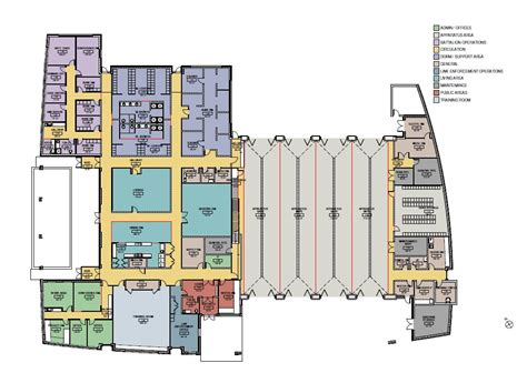 Fire Department Floor Plans | travilah fire station 32