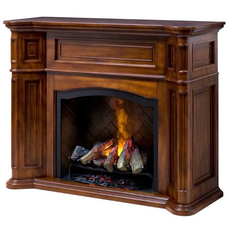 dimplex thompson optymist electric fireplace in burnished