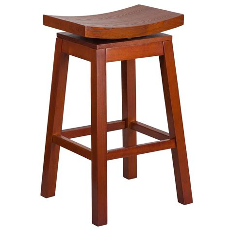 Light Cherry Bar Stools by Home Decorators Collection Melanie 30 In Brushed Aluminum