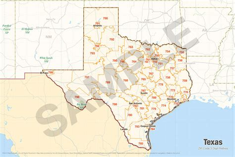 zip codes in texas map search the maptechnica printable map catalog maptechnica