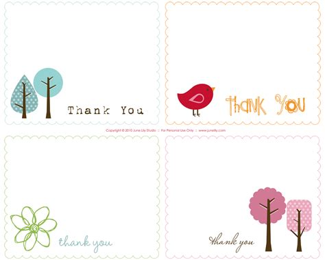 thank you cards free preschool to snazzy thank you cards free print
