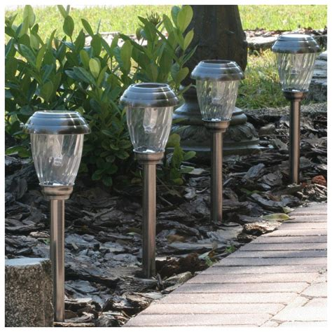 6 Pc Smart Solar Charleston Solar Pathway Lights Solar Pathway Lighting