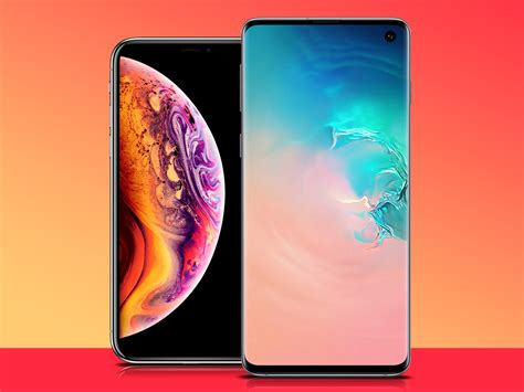 samsung galaxy   apple iphone xs  weigh  stuff