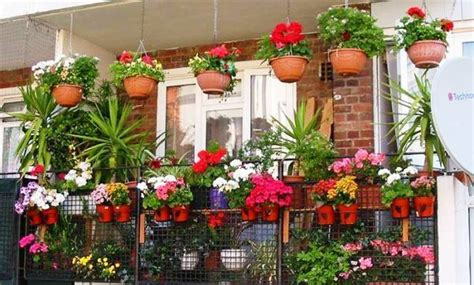 Garden Flowers Of India 20 Colorful Balcony Terrac Garden Design To Make It Cooler N Greener This Summer