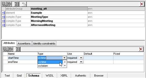 attribute pattern xsd what s new in xml schema 1 1 altova blog