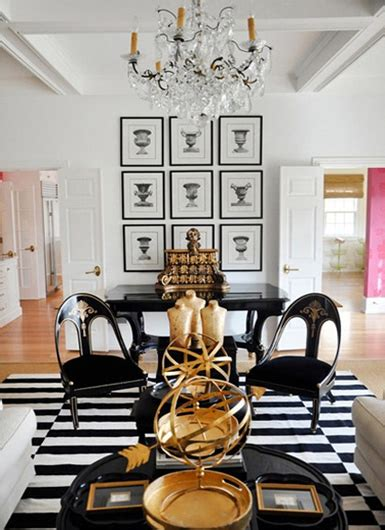black and gold living room maison inspiration snapshot black white gold