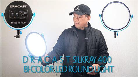 dracast silkray 400 bi color led light unboxing dracast silkray 400 bi color led light