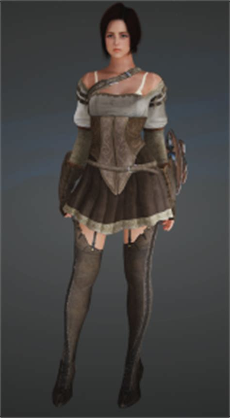 ellie the last of us bdo black desert online character