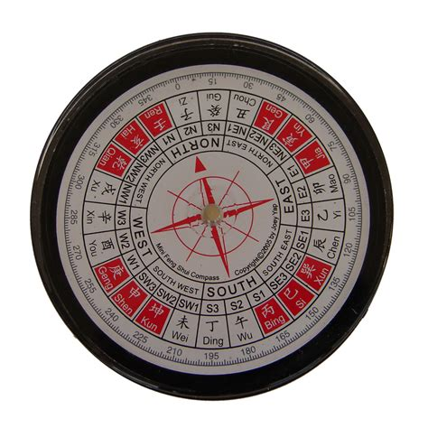feng shui compass in english version
