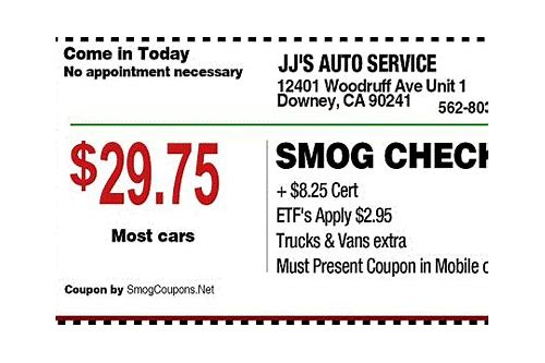 m&m smog san clemente coupon
