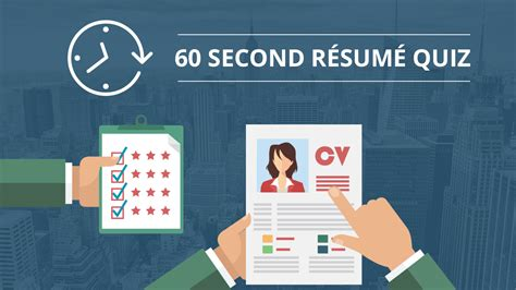 Resume Quiz by Resume Quiz Do You How To Create A Winning Resume