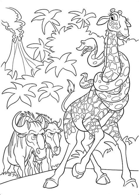 coloring page the wild coloring pages 9