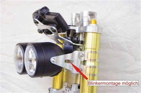 Scheinwerferhalter Motorrad by Produkt