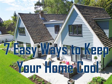 Ways To Keep House Cool by 7 Easy Ways You Can Keep Your Home Cool Beartooth Metal
