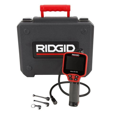 Diy Rugs Ideas Ridgid Micro Ca 100 Inspection Camera 36738 The Home Depot