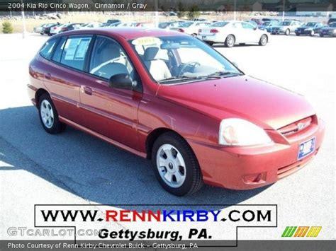 Kia Cinco 2004 Cinnamon 2004 Kia Cinco Wagon Gray Interior