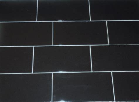 black subway tile fresh white subway tile black grout bathroom 9219