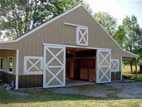 Sliding Pole Barn Doors 25 Best Ideas About Simple Barns On Barns Stalls And Barn Stalls
