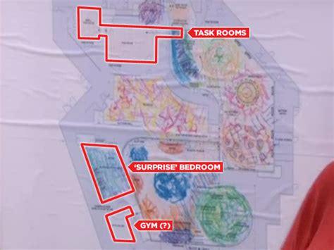 big brother floor plan bit on the side reveals secret rooms in house big