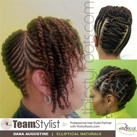 thirsty roots twist hairstyles thirsty roots team stylist dana augustine black