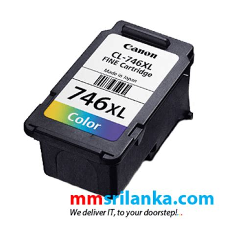 Canon 746 Ink Cartridge Color canon pixma 746 xl color cartridge