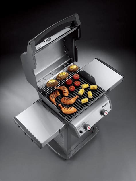 weber spirit   gas grill stainless steel