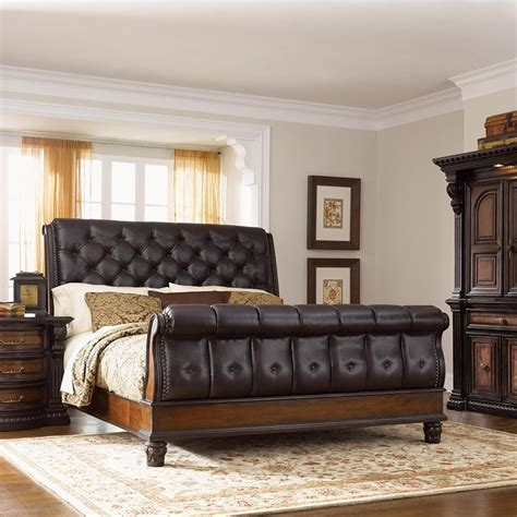 King Size Bed Decor Ideas Bedroom Contemporary Bedroom Design With King Sleigh Bed