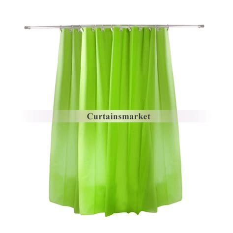 long green curtains bathroom long design good green shower curtain