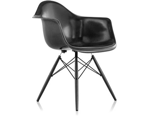 eames molded armchair eames 174 molded fiberglass armchair with dowel base