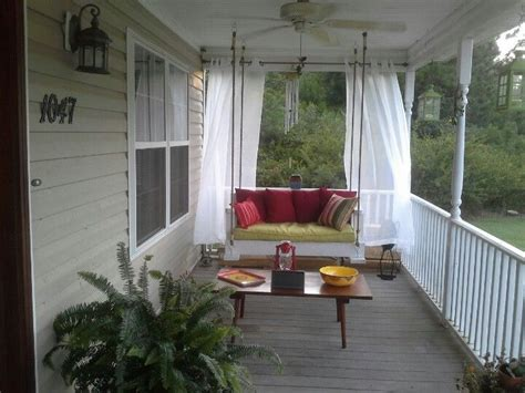 country porch swings low country swing got to try pinterest porches